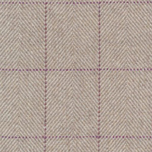 """Ronda Carman """"The New Town Collection Plaid"""" in Heather Stone"""