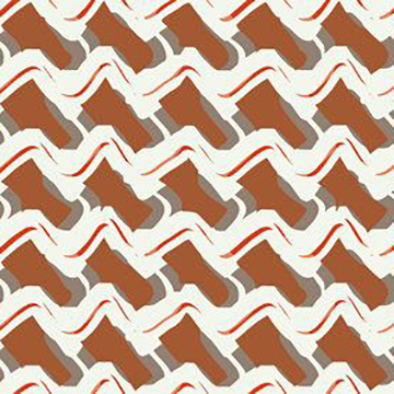 """Rouse Phillips """"Wave"""" in Orange"""