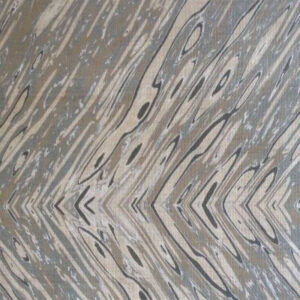 "Tania Vartan ""Chevron"" in Grey & Tan"