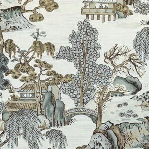 "Thibaut ""Asian Scenic"" in Grey"