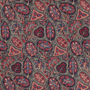 "Thibaut ""Cochin"" in Blue & Red"