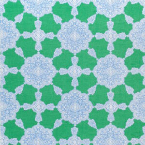 """Thibaut """"Medallion Paisley"""" in Blue & Green"""