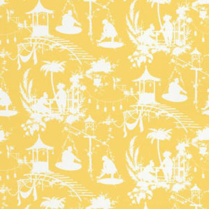 "Thibaut ""South Sea"" in Yellow"