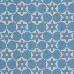"Vanderhurd ""Flower Cut Out"" in Powder Blue & Moonstone"