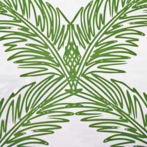 "Victoria Larsen ""Palm Trellis"" in Fern Green"