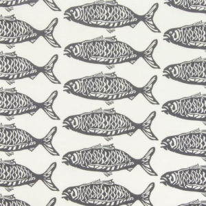 "Victoria Larsen ""School O Fish"" in Gray"