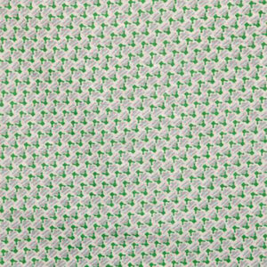 """Virginia White Collection """"Romilly"""" in Hockney Green on Natural"""