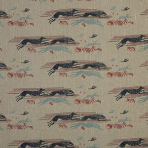 """Virginia White Collection """"Whippets"""" in French Navy"""