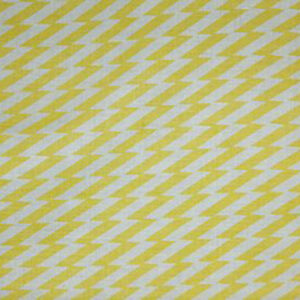 """Virginia White Collection """"Zig Zag"""" in Yellow"""