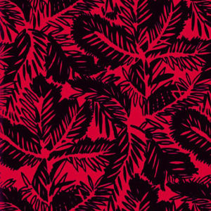 "Whiteworks The JET Fabric Collection ""Pine Velvet"" in Chanel Red"