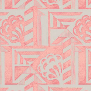 "Whiteworks The JET Fabric Collection ""Deco"" in Pink"