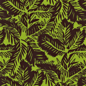 "Whiteworks The JET Fabric Collection ""Pine Velvet"" in Lime Green"