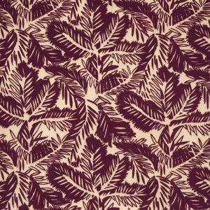 "Whiteworks The JET Fabric Collection ""Pine Velvet"" in Burgundy"