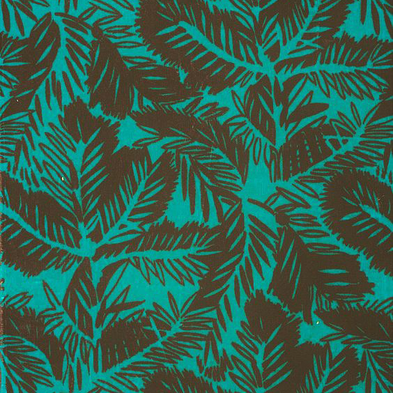 "Whiteworks The JET Fabric Collection ""Pine Velvet"" in Emerald Green"
