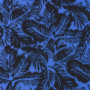 "Whiteworks The JET Fabric Collection ""Pine Velvet"" in Imperial Blue"