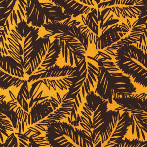 "Whiteworks The JET Fabric Collection ""Pine Velvet"" in Mustard Yellow"