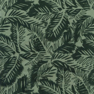 "Whiteworks The JET Fabric Collection ""Pine Velvet"" in Soft Green"