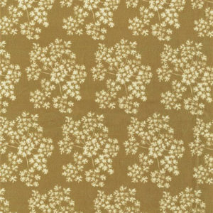 "Whiteworks The JET Fabric Collection ""Queen Anne's Lace Velvet"" in Gold"